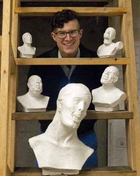 Zombie sculptor takes innovation to Kickstarter | Zombie Mania | Scoop.it