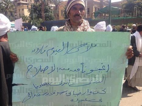 Minya farmers block major road over unfair FJP coupon scheme | Égypt-actus | Scoop.it