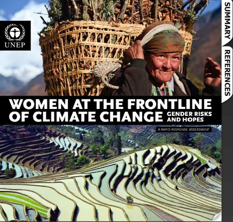 Women at the frontline of climate change - Gender risks and hopes - Interactive E-Book | UNEP/GRID-Arendal - Publications | Education for Sustainable Development | Scoop.it