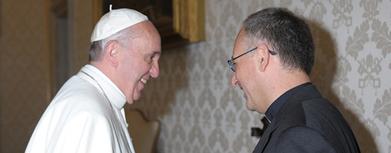 INEDIT : Entretien avec le pape François. - E-revue de culture contemporaine | Recherche de sens, développement de la personne et vie en société | Scoop.it