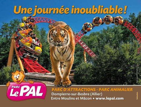 Le Pal : zoo et parc d'attractions à Dompierre | A visiter | Scoop.it