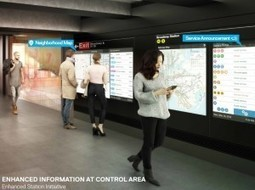 """NYC unveils plans for redesigned """"accordion"""" subway cars and renovated stations 