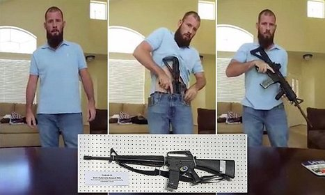 Chilling video shows how easy it is to hide an AR-15 on your person | LibertyE Global Renaissance | Scoop.it