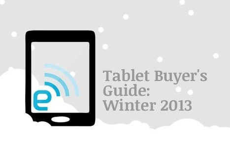 Engadget\'s tablet buyer\'s guide: winter 2013 edition | Education Tech & Tools | Scoop.it