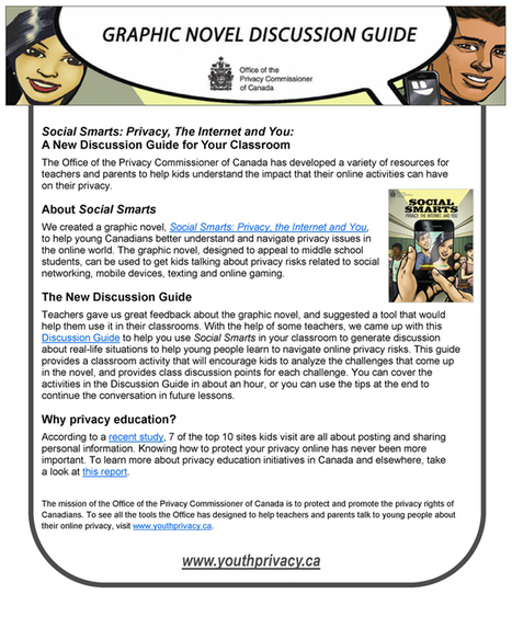 Youth Privacy Social Smarts | HCS Learning Commons Newsletter | Scoop.it