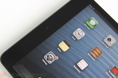 Market Showing Increased Interest In Smaller Tablets Like iPad mini - Ubergizmo   Latest Technology   Scoop.it