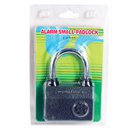 SMALL ALARMED PADLOCK, Motion Sensor with 100 db alarm when lock is tampered | Personal Security | Scoop.it