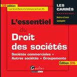 L'essentiel du droit des sociétés | Sélection de nouveaux livres | Scoop.it
