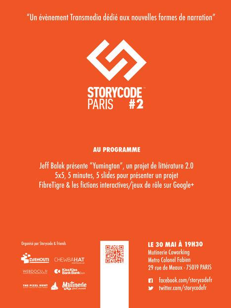 Storycode Paris #2 - la Mutinerie à Paris | Transmedia content & storytelling [Fr] | Scoop.it