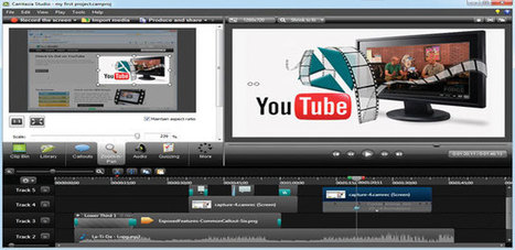 Запись видео с экрана компьютера становиться возможным благодаря программе Camtasia Studio | Business-all.com | electronic-journals | Scoop.it