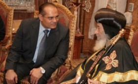 Head of the Supreme Council of Antiquities pays condolences to Pope Shenouda III for Maspero victims | Égypt-actus | Scoop.it