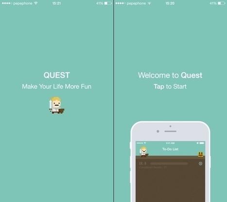 Quest, una app que convierte tus tareas en un juego | Educacion, ecologia y TIC | Scoop.it