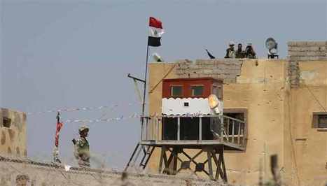 Egypt troops move into Israel border zone   Égypt-actus   Scoop.it