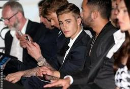 [Photos] Justin Bieber At  The Amber Lounge Fashion Show | Young Gossip | Scoop.it
