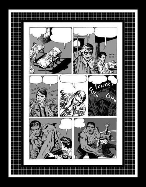 "Jack Kirby Incredible Hulk #1 Rare Production Art Pg 5 Monotone | Jack ""King"" Kirby | Scoop.it"