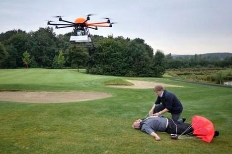 Defibrillator Drones - Geeky gadgets | Les Volutiles | Scoop.it