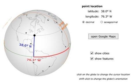 Crea y aprende con Laura: Simulador Virtual de Coordenadas. | Geografía secundaria | Scoop.it