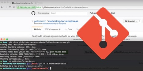 Git for WordPress Developers: A Free Video Course from WP Pusher | Trailing WordPress | Scoop.it