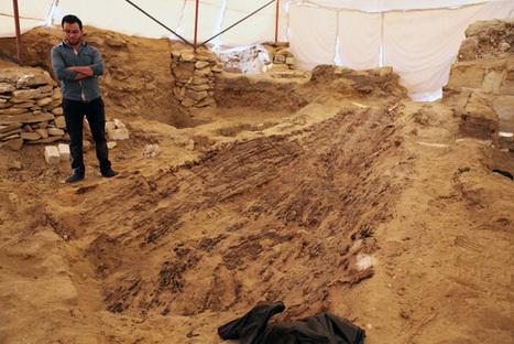 Barco del Imperio Antiguo hallado en la necrópolis de Saqqara | ArqueoNet | Scoop.it