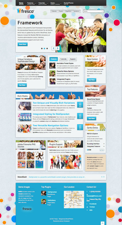 Fresco WordPress Theme for iPhone or Android Viewing support | radio568 | Scoop.it
