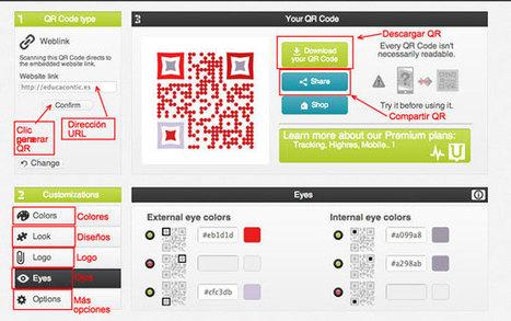 Personaliza tus códigos QR con Unitag | Nuevas tecnologías aplicadas a la educación | Educa con TIC | Personal y hobbies | Scoop.it