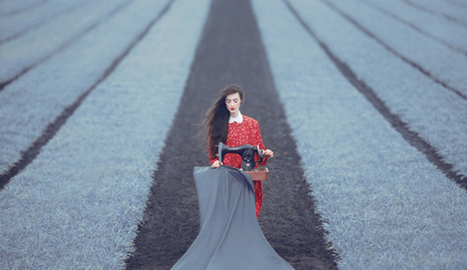 Surreal Photography by Ukrainian Photograher Oleg Oprisco | Hitchhiker | Scoop.it