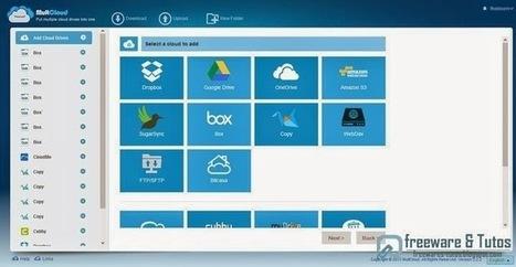 MultCloud : un service en ligne pratique pour centraliser et gérer vos principaux services de cloud computing | Technologie Au Quotidien | Scoop.it