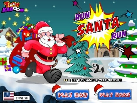 Play Run Santa Run | Adventure Games | Just Friv | Flash Games | Scoop.it