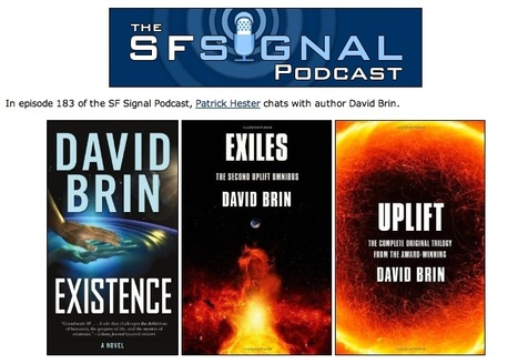 The SF Signal Podcast (Episode 184): Interview with Author David Brin | Interviews with David Brin: Video and Audio | Scoop.it