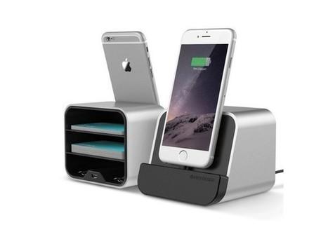 Test du dock de bureau i-Depot VRS Design pour smartphone et tablette | Info iDevice | Scoop.it