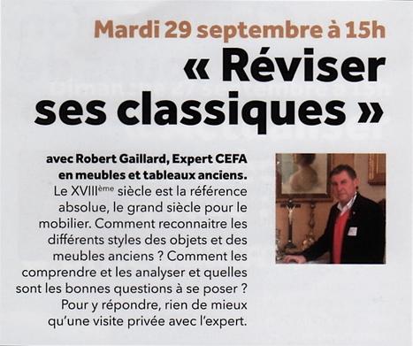 Robert Gaillard expert CEFA à la foire de Chatou | CEFA | Scoop.it