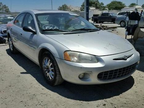 2001 silver Chrysler Sebring Lx on Sale in San Diego, CA | Online Auto Sale | Scoop.it