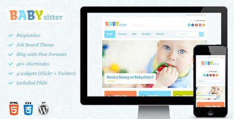 Babysitter – Responsive WordPress Theme Download | ME | Scoop.it