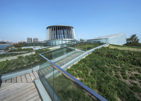 Domed roof garden covers Waterfront Restaurant by Pro-form Architects | Inspired By Design | Scoop.it