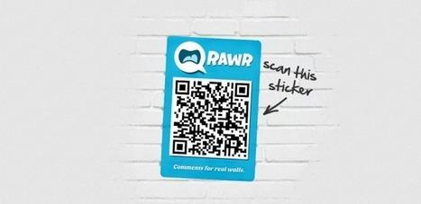 QRawr : les stickers QR code font entrer les objets réel dans le monde digital | QRdressCode | Scoop.it