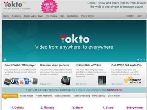Yokto.tv – Armar videomontajes usando  vídeos de distintas plataformas | e-learning y aprendizaje para toda la vida | Scoop.it