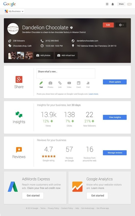 Google My Business : un outil pour gérer son CRM dans le monde Google | Fuel for digital strategic marketers | Scoop.it