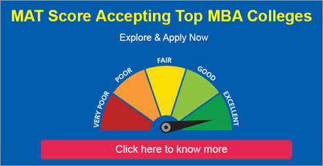 MAT Score Accepting colleges: Explore the MAT Score acceoting B Schools | All About MBA | Scoop.it