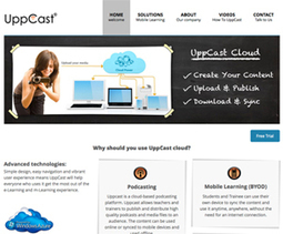 Collaborative e-learning platform from UppCast - Innovate My School | collaborative learning in higher education | Scoop.it