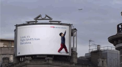 Ces panneaux publicitaires interactifs qui réagissent avec leur environnemnent | CRAKKS | Scoop.it