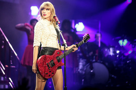 Swift Sees Red Atop Hot Tours Chart   Red tour   Scoop.it