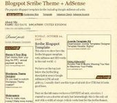 BlogSpot Blogger Templates with AdSense and SEO | Blogger themes | Scoop.it