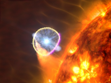 NASA's Fermi Space Telescope Reveals New Source of Gamma Rays | Nuclear Physics | Scoop.it