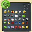 50+ Useful Icon Sets for E-commerce Designs | e-learning y moodle | Scoop.it