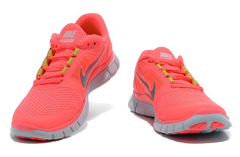 Nike Free Run 3 Womens Red Grey for Sale Buy Now | fashion | Scoop.it