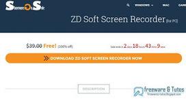 Offre promotionnelle : ZD Soft Screen Recorder gratuit (3 jours) ! | Freewares | Scoop.it