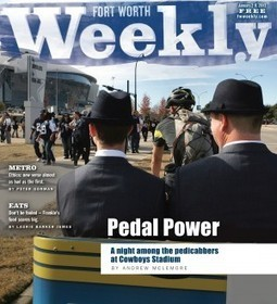 Pedal Power - Fort Worth Weekly | Pedicabs in the Media! | Scoop.it