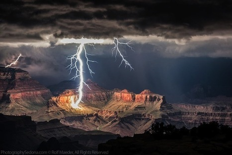 Spectacular Lightning Show Over the Grand Canyon | The Blog's Revue by OlivierSC | Scoop.it