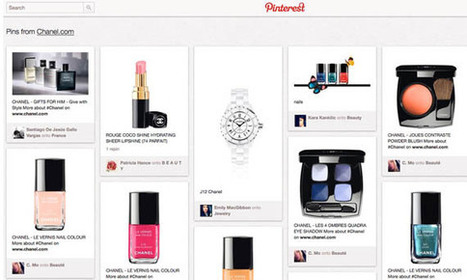Chanel Is the Favored Fashion Search Term on Pinterest | veille 2.0 | Scoop.it