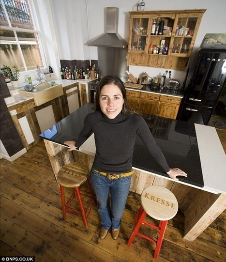 The austerity house: Couple completely make over their home with reclaimed goods | House Design | Scoop.it